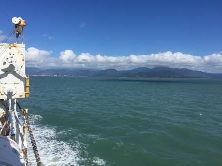 Sailing on Trinity Bay