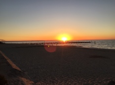 Sunrise in Geographe Bay